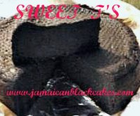 Jamaican Black cake  8 inch